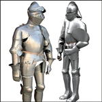 Functional Suits of Armour for re-enactment groups.
