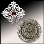 Brooches, Medieval, Renaissance, Celtic, Steampunk