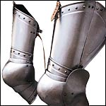 Medieval and Renaissance Custom Made Leg Armor
