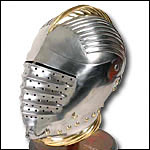 Helms from Roman to Medieval to WWII