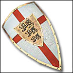 Decorative and Functional Medieval Shields