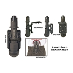 Night Ops Flashlight Holder 116-NI7SGH00BK