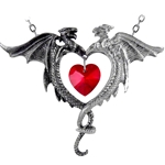 Coeur Sauvage Pendant Pewter Alchemy P446