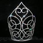 Swooning Heart Crown - 11in