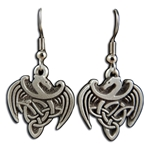 Celtic Dragon Earrings 132.1408