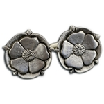 Tudor Rose Cufflinks 136.0670