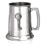 21 Key Badge One Pint Pewter Tankard EP039