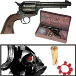 M1873 Western Army Revolver Blued Finish Non Firing