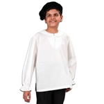 Musketeer Shirt for Children - White Cotton 101575