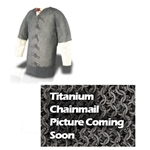 Titanium Mail Armor Haubergeon 48 inch Chest