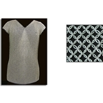 Sleeveless Mail Shirt or Chainmail Vest, 60 inch Chest