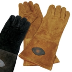 Brown Suede Gloves