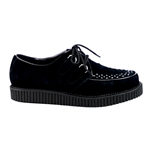 Creeper Black Suede Shoes 34-3193