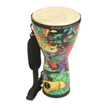 "Remo Djembe, 8"" x 15"", Rain Forest"