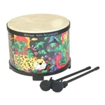 Remo Kids Percussion Floor Tom 10-by-7.5-In Rain Forest
