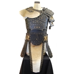 Barbarian Leather Armor Set - Brown
