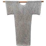 Chain Mail Hauberk Riveted Aluminum 62-9060