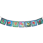 Tropical Flower Flags 63-0032