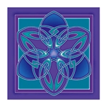 Celtic Lotus Wall Hanging 63-5