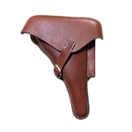 German WWII P-08 Luger Hardshell Holster Natural (Tan)