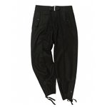 German WH Panzer Trousers - Black WWII,German WWII Tanker Pants Black