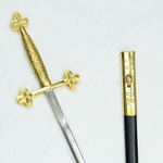 Masonic Club Sword (No Etching) AH-4217