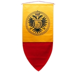 Double Head Eagle Banner - Medieval Heraldic Banner
