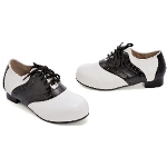 Saddle (Black/White) Child Shoes 100-149435