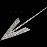 Damascus Arrowhead Straight Broadhead DB-2211
