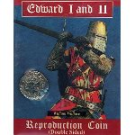 Edward I and Edward II Medieval Coin Replica E1E2CP
