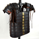 Lamellar Armor - Blackened Steel