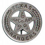 Texas Rangers Badge OH3011