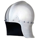 War of the Roses Archer Sallet Helmet - 16 Gauge,15th Century Sallet Helm