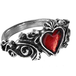 Betrothal Ring Pewter Alchemy R134