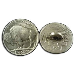 Buffalo Nickel Button 107.1233