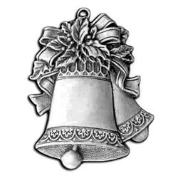 pewter christmas bells