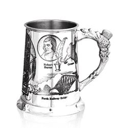 Scotland One Pint Pewter Tankard
