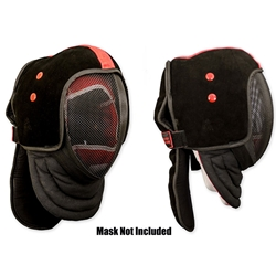 HEMA Leather Mask Overlay L/XL - Red Dragon Armoury