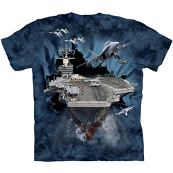 Aircraft Carrier Adult T-Shirt 43-1082630