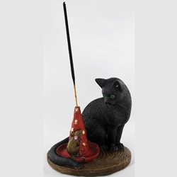 Cat & Mouse Incense Holder 45-IB978