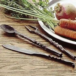 Medieval Set of Eating Utensils