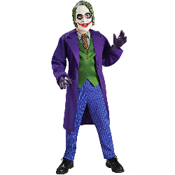 Batman Dark Knight Deluxe The Joker Child Costume 100-149807