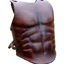 Deluxe Leather Muscle Breastplate